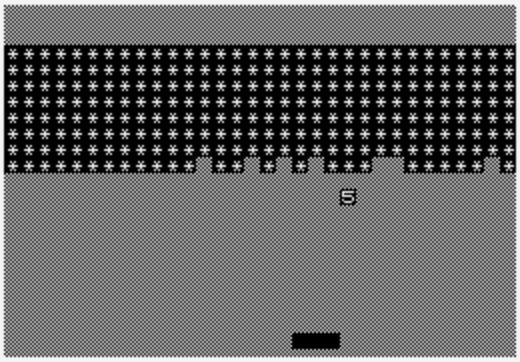 Breakout on ZX81
